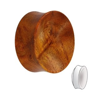 Wood Ear Plug - Redwood
