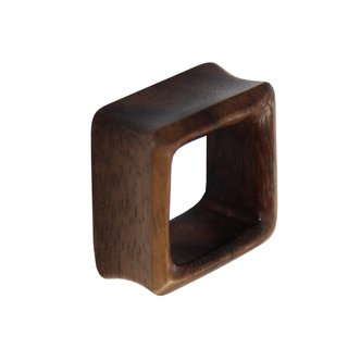 Flesh Tunnel - Square - Sono Wood