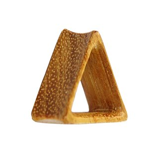 Wood Flesh Tunnel - Triangle - Jackfruit Wood