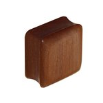 Wood Ear Plug - Square - Saba Wood