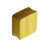 Wood Ear Plug - Square - Jackfruit Wood