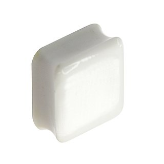 Ear Plug - Square - Bone