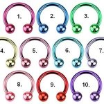 Circular Barbell - Steel - Colorful