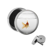 Picture Fake Plug - Gold Fish