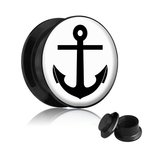 Picture Ear Plug - Screw - Anchor