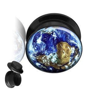Picture Ear Plug - Screw - Earth