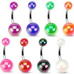 Bananabell Piercing - Balls - Metallic Colored