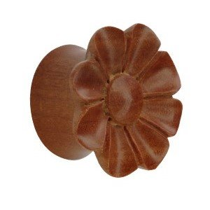 Shape Ear Plug - Wood - Wildflower