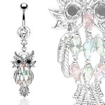 Bananabell Piercing - Owl - Crystal