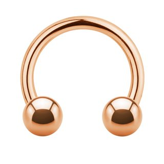 Circular Barbell - Rose Gold