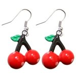 Dangle Earrings - Cherries