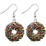 Dangle Earrings - Donut