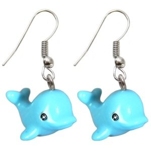 Dangle Earrings - Dolphin