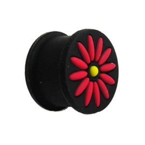 Silicone Ear Plug - Black - Rot