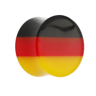 Horn Ear Plug - Flag - Germany