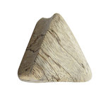 Wood Ear Plug - Triangle - Tamarind Wood