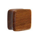 Wood Ear Plug - Square - Teakwood