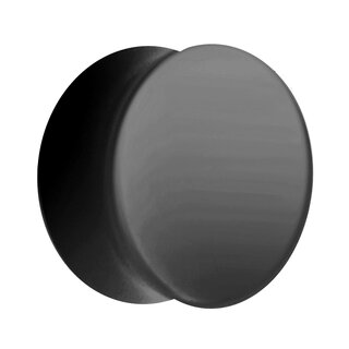 Classic Ear Plug - Black - 10 mm