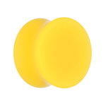 Classic Ear Plug - Yellow - 18 mm