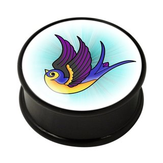 FTS - Picture Ear Plug - Swallow